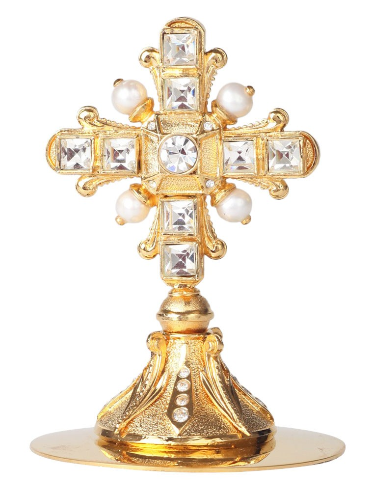 Крест на митру №14 (золочение)