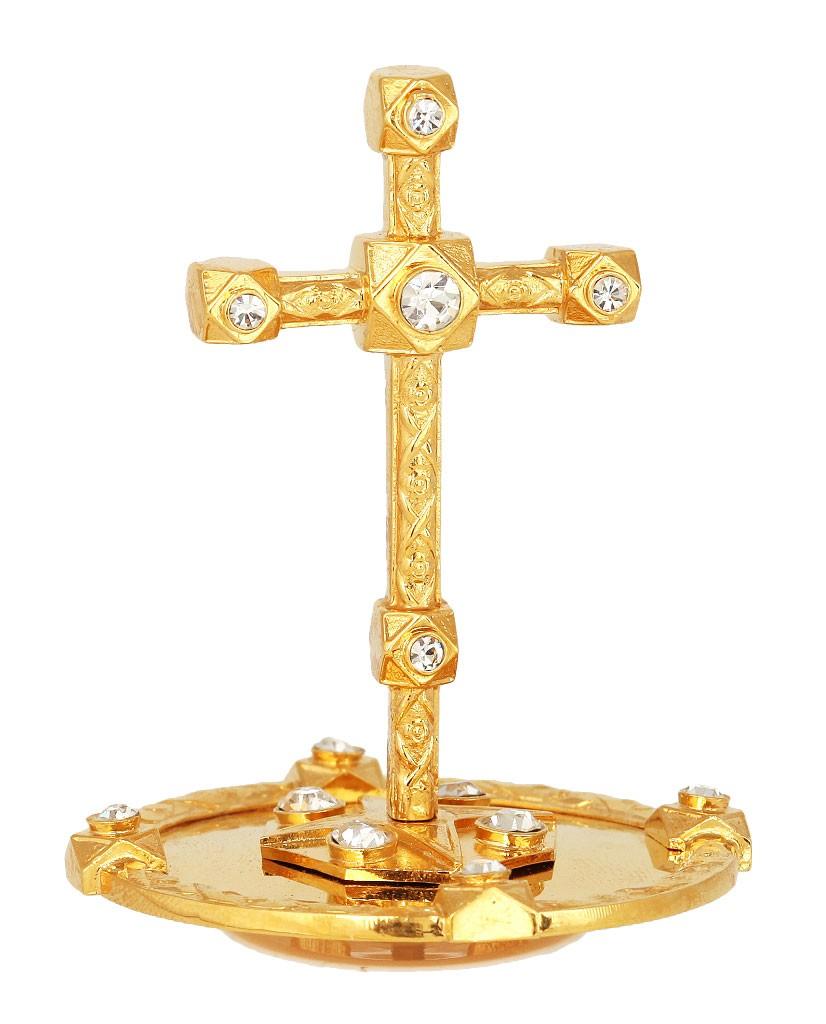 Крест на митру - 10 (золочение)
