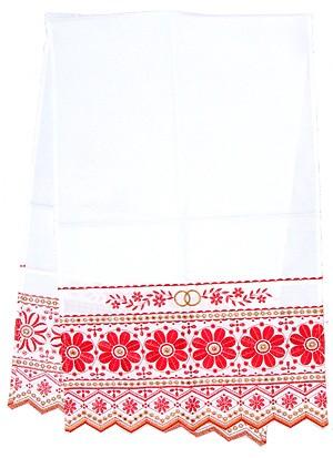 Вышитый венчальный рушник -3