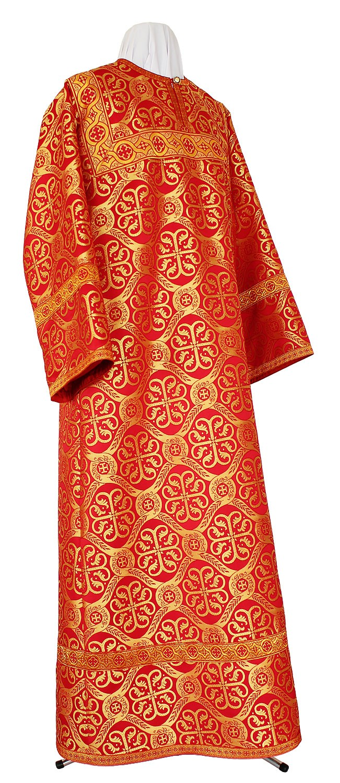 Стихарь алтарника из шёлка Ш3 (красный/золото)