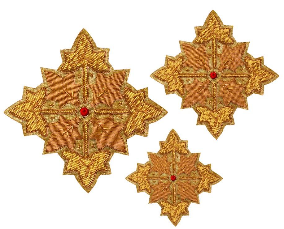 Кресты ручной вышивки №Д101