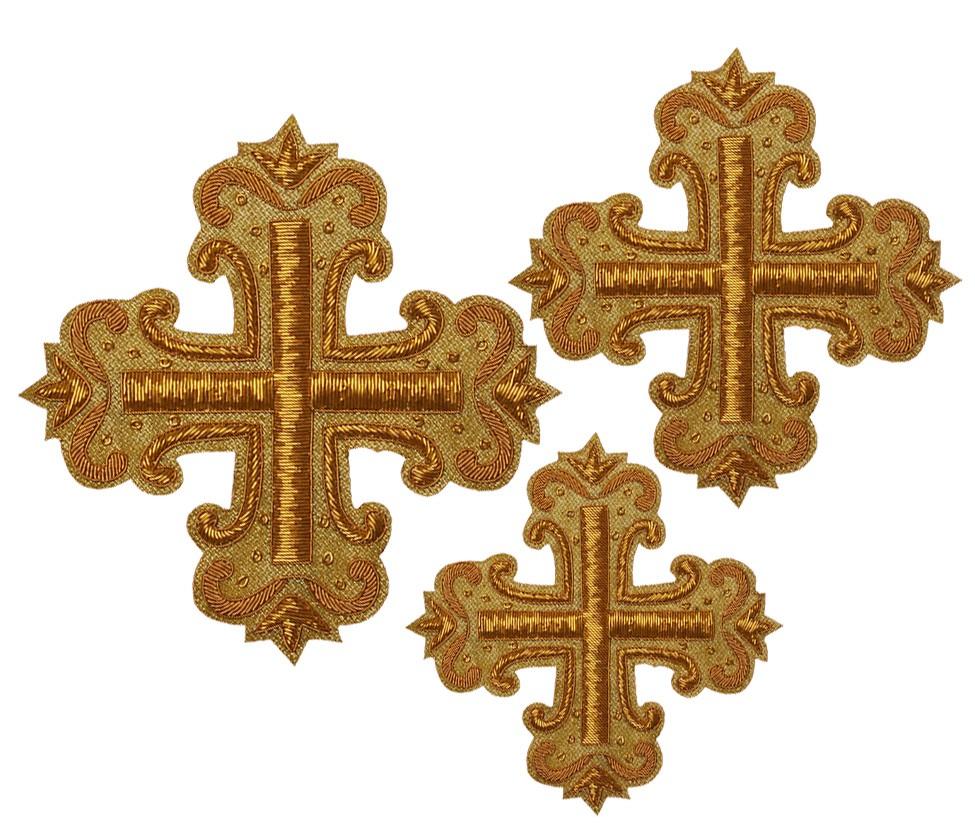 Кресты ручной вышивки №Д141