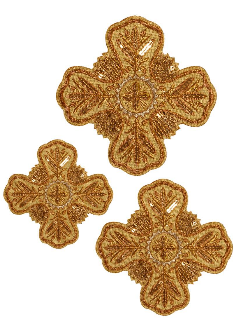Кресты ручной вышивки №Д150