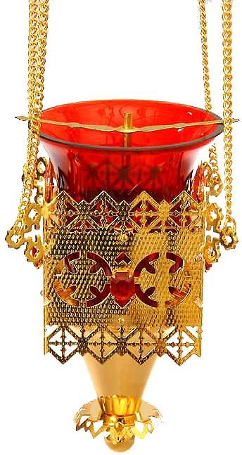 Церковная лампада №66 (золочение)