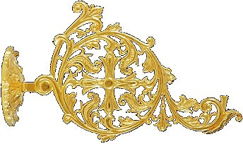 Церковная лампада кронштейн - 2