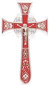Крест напрестольный №4-1 (голубой)