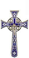 Крест напрестольный №4-1 (фиолетовый)