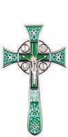 Крест напрестольный №4-1 (светло-зелёный)