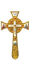Крест напрестольный Мальтийский - 1