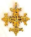 Православный нательный крест №16