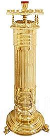 Церковный напольный подсвечник (24 свечи)