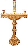 Церковный напольный подсвечник №26 (80 свечей)