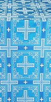 "Шёлк ""Иверон"" (синий/серебро)"