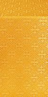 "Парча ""Каменный цветок"" (жёлтая/золото)"