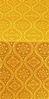 """Парча """"Византия"""" (жёлтая/золото)"""