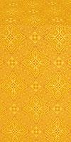 "Парча ""Вильно"" (жёлтая/золото)"