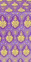 """Шёлк """"Чернигов"""" (фиолетовый/золото)"""