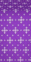 """Шёлк """"Белозерск"""" (фиолетовый/серебро)"""