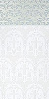 """Парча """"Виноград"""" (белая/серебро)"""