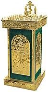 Столик панихидный (канун) №601z (50 свечей)
