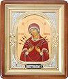 Православная икона: Семистрельный образ Пресвятой Богородицы