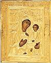 Православная икона: Тихвинский образ Пресвятой Богородицы №3