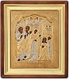 Православная икона: Явление Пресв. Богородицы преп. Сергию Радонежскому - 4