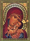 """Образ: """"Касперовская"""" икона Пресвятой Богородицы"""