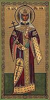 Икона: Св. равноапостольная царица Елена