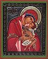 """Икона: образ Пресвятой Богородицы """"Взыграние младенца"""""""