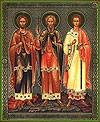 Икона: Свв. мученики и исповедники Гурий, Самон и Авив