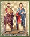 Икона: Свв. Безсребреницы и чудотворцы Косьма и Дамиан - 2