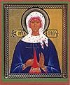 Икона: Святая мученица Лидия