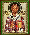 Икона: Святитель Геннадий архиепископ Новгородский