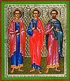 Икона: Свв. мученики Инна, Пинна и Римма