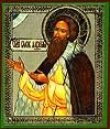 Икона: Св. блаженный Лаврентий Калужский