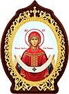 Икона настольная  - Покров Пресвятой Богородицы.