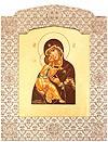 Икона: образ Пресв. Богородицы Владимирская - 12