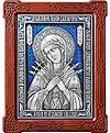 Икона Пресв. Богородицы Всецарица Семистрельная - А87-3