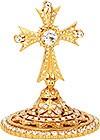 Крест на митру №12 (золочение)