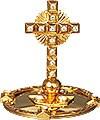 Крест на митру №18