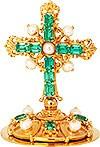 Крест на митру №19 (золочение)