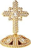 Крест на митру №23 (золочение)