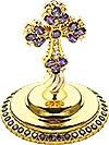 Крест на митру ювелирный - A614 (золочение)