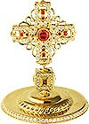 Крест на митру ювелирный - A624 (золочение)