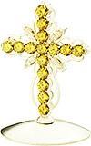 Крест на митру ювелирный - A752 (серебрение)