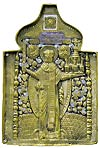 Икона на металле: Свят. Николай Чудотворец (Можайский)