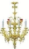 Двухъярусное церковное паникадило - 11 (8 свечей)