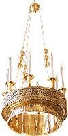 Хорос церковный греческий - 130 (8 свечей)