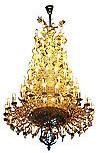 Пятиярусное церковное паникадило - 2 (77 свечей)